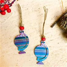 Globe Ornaments (set of 2)