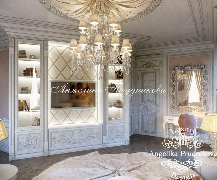 Дизайн проект детской комнаты в классическом стиле - фото
