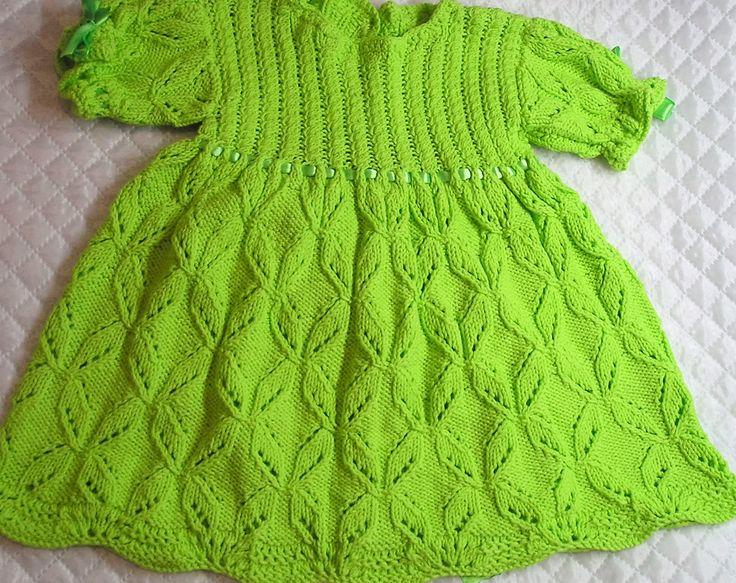 Платье на малышку возраст - 6-9мес--купить вязаное платье для девочки---вязаное платье для малышки,платье вязаное для малышки,платье ,платье для девочки,продаю платье вязаное для малышки