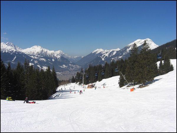 Skipiste Ehrwalder Alm   Tirol   Österreich  