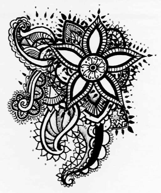 corazones zentangle buscar con google zentangles pinterest henna manos y florales. Black Bedroom Furniture Sets. Home Design Ideas