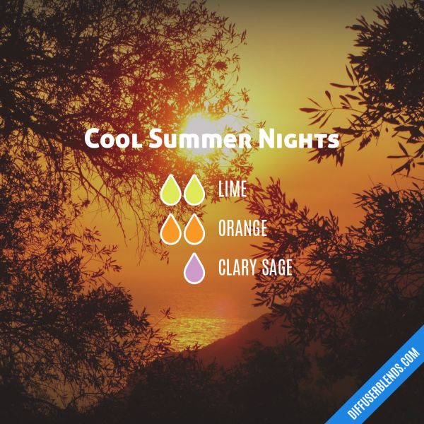 Cool Summer Nights - Essential Oil Diffuser Blend