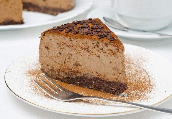 Cheesecake cu ciocolată amăruie   Click! Pofta Buna!