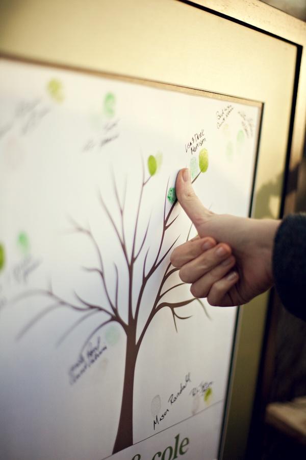 keepstake a guests thumbprint tree