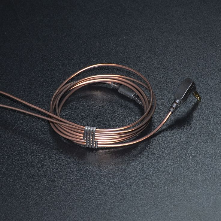 KZ 3.5mm 56 LC-OFC Copper In-ear Eaphone Line 1.2M High Quality Headphone Accessories Replaceable Wire For DIY Earphone
