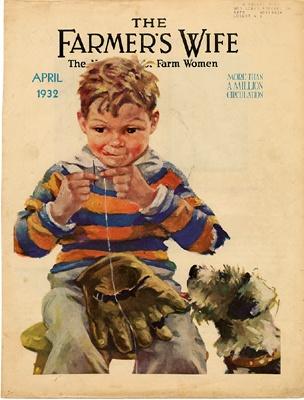The Farmer's Wife - Mending Mitt April (1932)