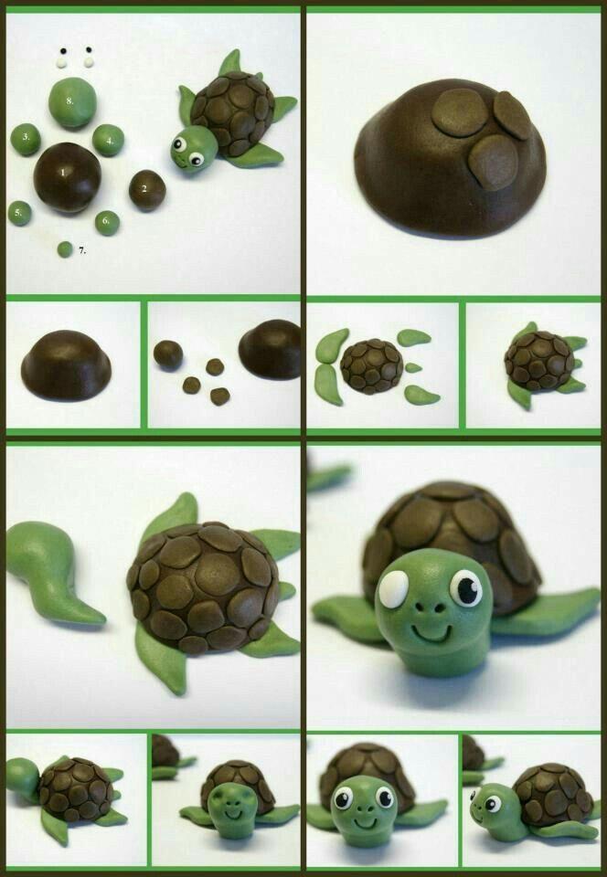 Tortuga marina masa flexible