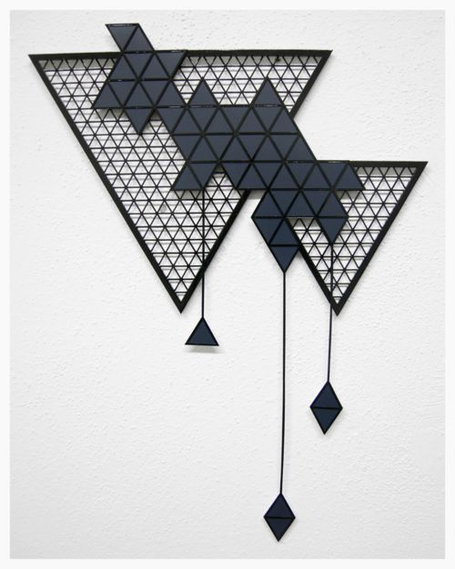 """""""reconnect the stars, every single one"""", solo show, the shoppe, denver, co, 2013 materials: wood, styrene + paint"""
