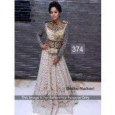 374-bindu-madhavi #sari #bollywoodreplica #bollywoodsari #bollywoodsaree #gown #drees by www.khazanakart.com