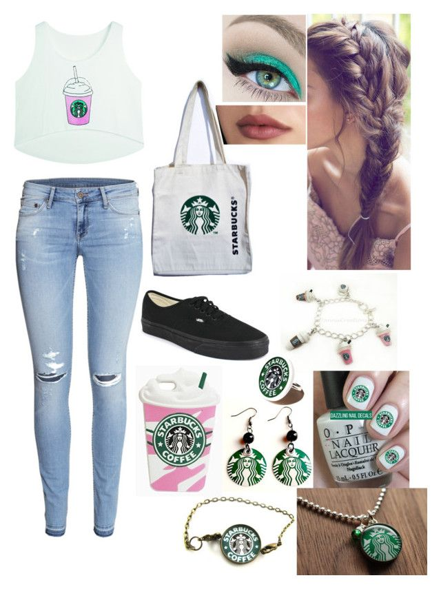 """""""Untitled #71"""" by bubblegumprincess831 on Polyvore featuring H&M and Vans"""
