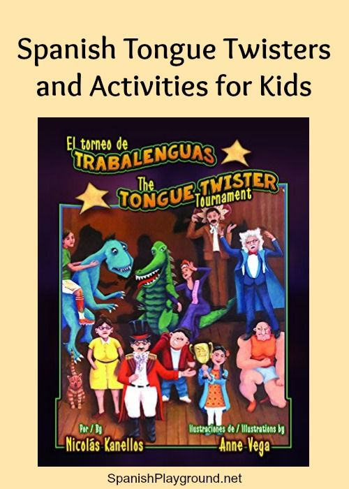 Spanish+Tongue+Twisters:+Book+and+Activities