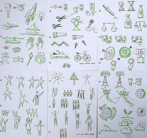 Icon Practice for Scribing | by PB Hastings