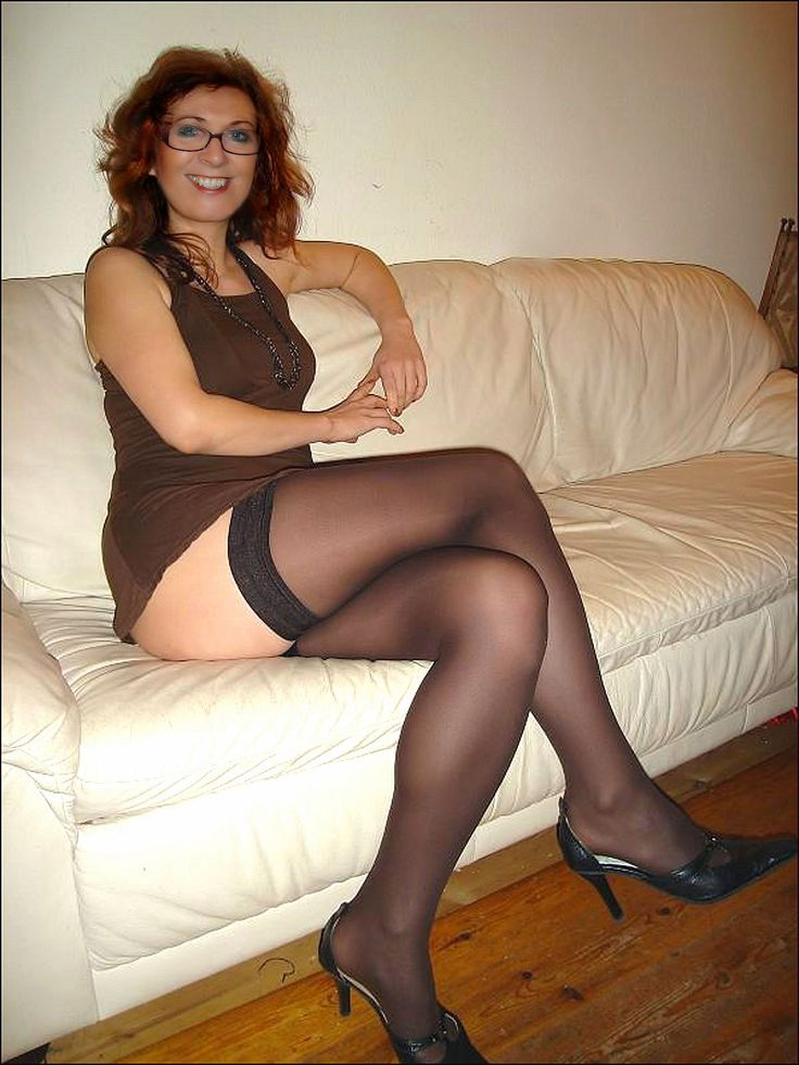 Stockings Suspenders And Heels  Photo  Legs And More -6555