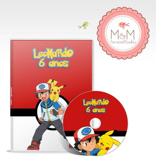 DVD + Capa Personalizados - Pokémon