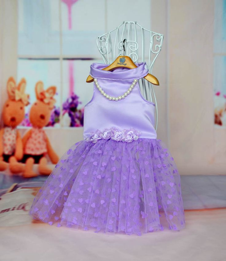 Areal by Avril purple with pearl tutu dress. Shop at: http://petsionista.com/index.php/en/s/apparels/clothing/dresses/dress2013-04-30-08-08-11-detail