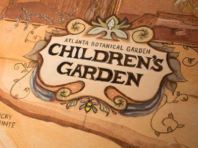 Children's Garden Map - Atlanta Botanical Garden