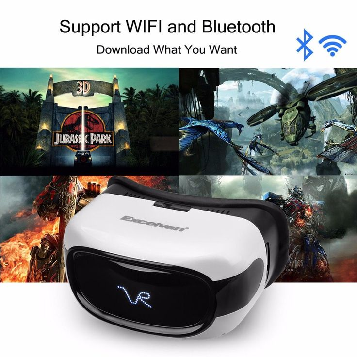Excelvan A5026 VR Headset HD 3D Virtual Reality Glasses Android 5.1 RK3126 Quad Core 8GB WIFI Bluetooth TF Card Video Player //Price: $84.95//     #shop