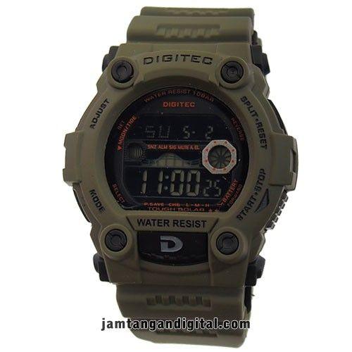 jam tangan digitec DG-2055T hijau