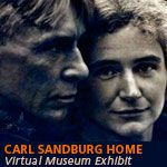 """Carl Sandburg's home, """"Connemara,"""" in North Carolina is a National Historic Landmark and National Historic Site.  You can learn about his legacy as a """"poet of the people.""""  Enjoy a tour, walk the grounds, enjoy the frolicking descendents of Mrs. Sandburg's dairy goat herd!"""