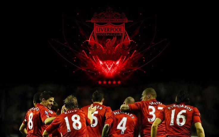 Liverpool FC #logo Steven Gerrard Martin Skrtel #footballers #YNWA #1080P #wallp…
