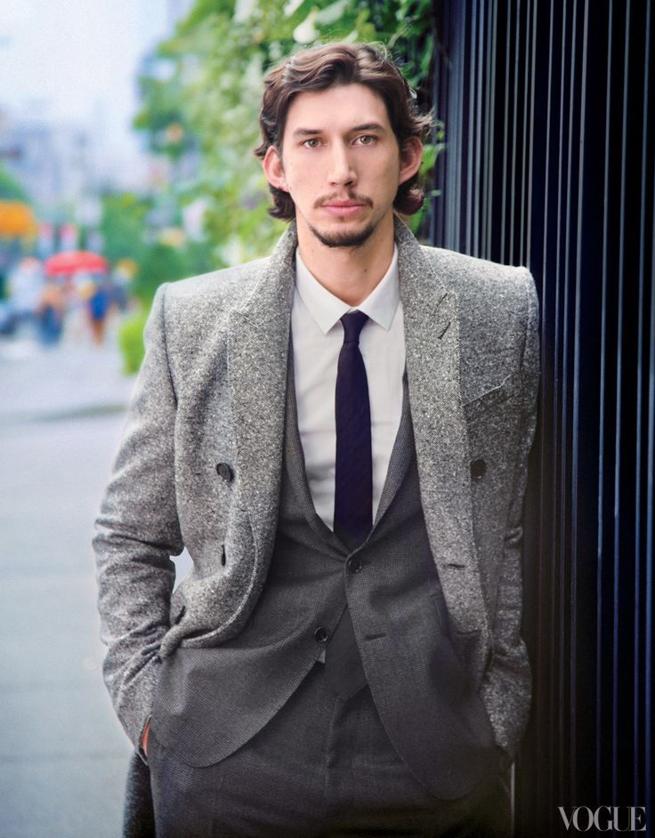 In the February issue, Vogue speaks with Adam Driver, a star of HBO's hit comedy Girls, now in its second season. Here, more from our interview about his experience on the set of the award-winning show, his military history, and his plans for the future.