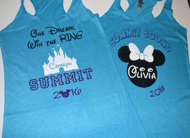 a9a53169da Items similar to Summit Bound One Dream Win The Ring Custom Tank on Etsy