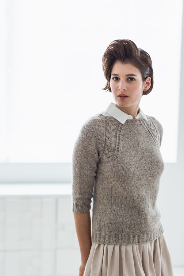 Coda pullover from Brooklyn Tweed #WoolPeople7