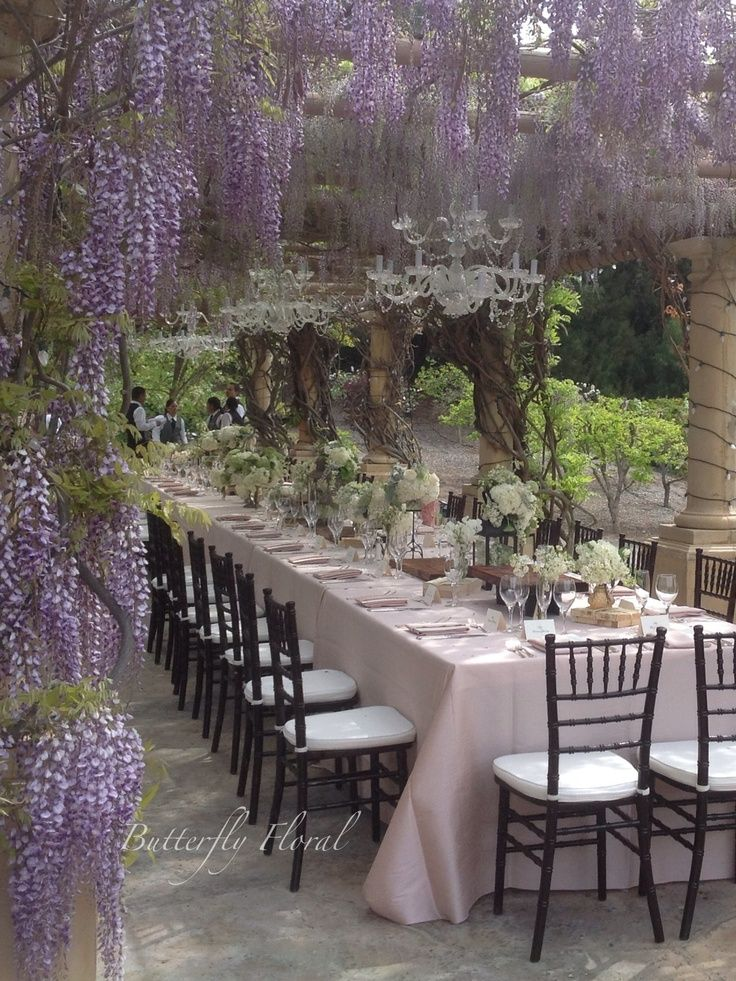 Enchanting outdoor party.....(via Pin by Lauren Knightsbridge on ~Summer~ | Pinterest)