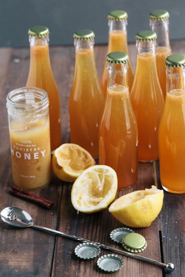 Caramel Apple Cider Cocktail Recipe via @VintageMixer #apple #drink # ...