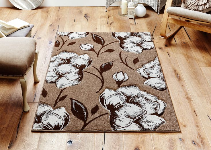 Striking & Bold floral designs_ this Viva Rug is an excellent choice for both style and value. #beigerugs #floralrugs #largerugs #designerrugs