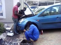WEOFFER MOBILE CAR REPAIRS AND SERVICES ON MOST MAKES AND MODELS OF VEHICLES.OURSERVICES INCLUDES:*COMPUTERIZEDDIAGNOSTICS*MINORAND MAJOR SERVICES*BRAKESAND CLUTCH REPAIRS*OVERHEATING DIAGNOSIS AND HEAD GASKET CHANGE*TIMINGCHAIN/BELT CHANGE ON ALL MAKES OF VEHICLES*NONESTARTING DIAGNOSIS AND REPAIRS.ETC. CALLTHE EXPECTS WITH YOUR CAR PROBLEM AND WE WILL COME TO YOU!!!!!! CALL-OUTFEE:R 250COMPUTERIZED DIAGNOSIS:R 200PERFECTION GUARANTEED !!!!!!!!!