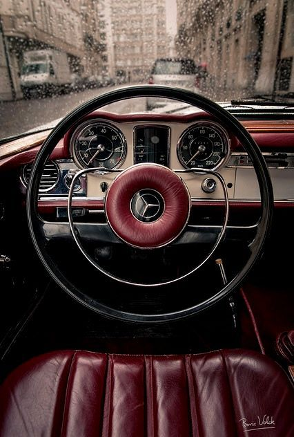 Nothing like an old Benz