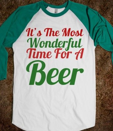 This could be my weekend shirt all year long!  :)