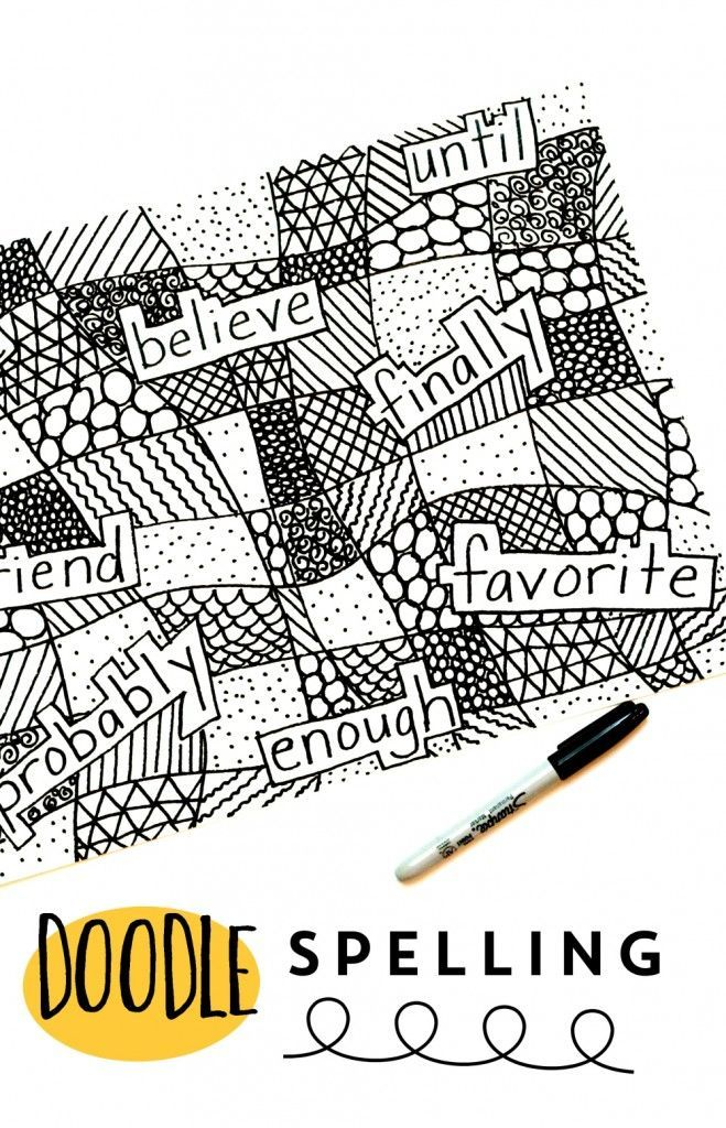 Doodle Spelling: A fun and creative way to practice spelling words.