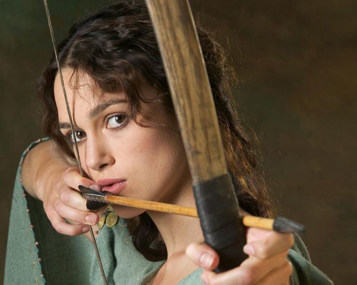 Keira Knightley as Guinevere in the King Arthur film