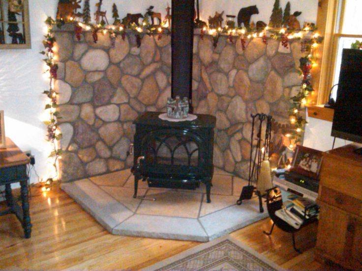 Google Image Result for http://www.hearth.com/talk/. Corner Wood StoveWood  ... - 8 Best Ideas For Hearth Images On Pinterest