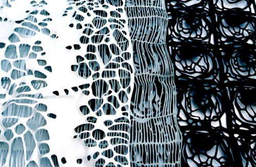 Lauren Moriarty - Laser Cut Lace Panels