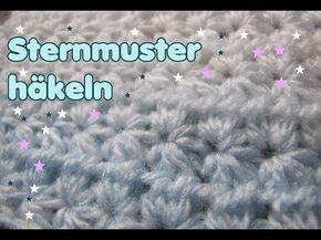 Tolles Sternen Muster Häkeln Super Schön Für Herbst Winter Häkeln