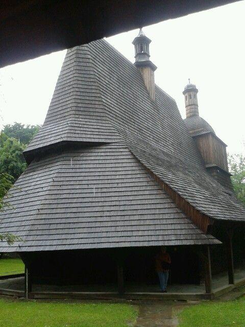 Sękowa,szlakiem architektury drewnianej w Małopolsce 2013r.