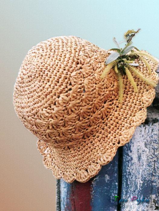 Mejores 132 imágenes de sombreros crochet en Pinterest 7eb9696a35d