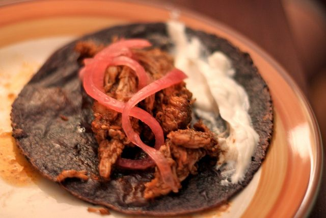 yucatan-style slow-roasted pork tacos (amateurgourmet) - I just found some annatto seeds at the market, so this pork is happening soon.