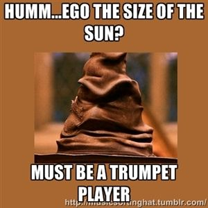 Music Sorting Hat result for trumpet(finally!!!!)