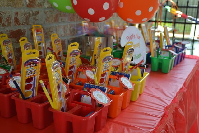 Art Painting Birthday Party Ideas Favors And Art Party