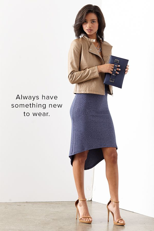 Wouldn't it be nice to have a constantly rotating closet for work, the weekends, and everything in between? With Le Tote you receive 3 pieces of clothing and 2 accessories for as long as you want. Return everything when you're ready and get your next box days later.