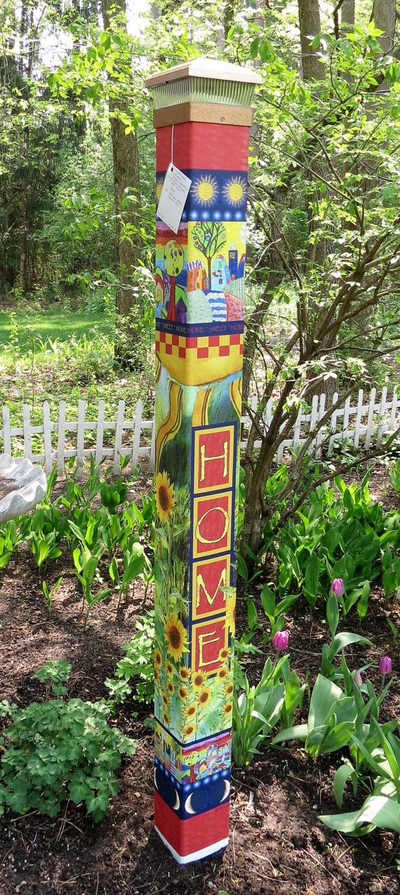 17 Best 1000 images about totems and peaceful garden poles on Pinterest