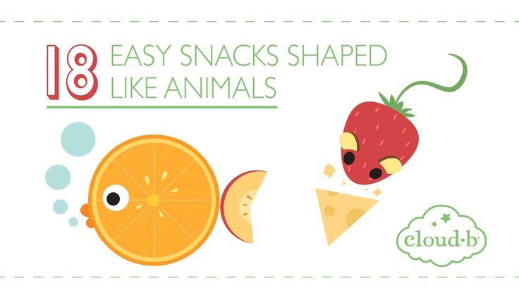 18 Easy Snacks Shaped Like Animals