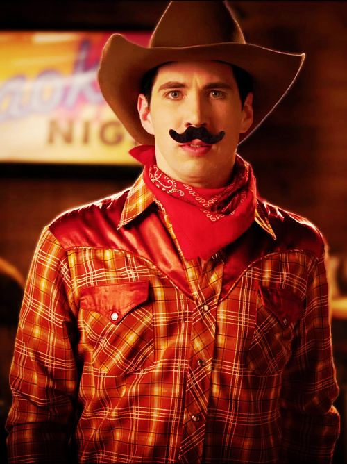 Look at that sexy cowboy! Josh Ramsay at his finest.