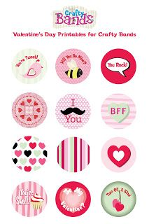 Epiphany Crafts Valentine printables