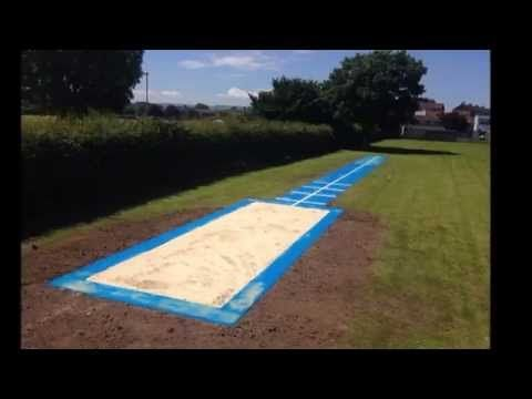 Multisport Synthetic Long Jump In Somerset www.sportsandsafetysurfaces.co.uk/athletics/long-jump/construction/