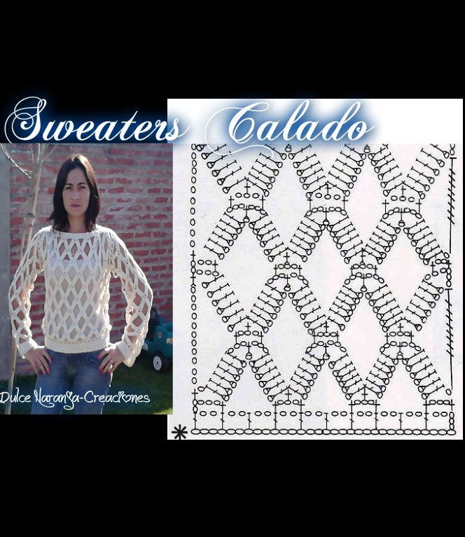 9 best Patrones de Crochet images on Pinterest | Patrones de crochet ...